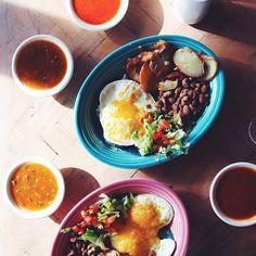 Huevos, salsa for days  @heritagehtls #NMTrueFlavors @newmexicotrue