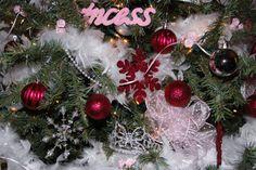 Christmas 2009.  Princess Christmas Tree.  Baby's First Christmas.