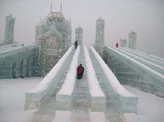 Harbin snow and ice festival snow ice sculpture
