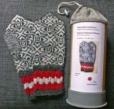 Ravelry: susaLAMMAS's Mittens made of Knitting Set from Estonia - I