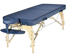 Master Massage Phoenix Therma-Top Portable massage Table with MEMORY FOAM Package,Royal Blue ** You can find more details by visiting the image link.
