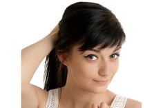 Ideas for great looking women's hair. Your own hair is exactly what can define you as a man or woman. To many people it is undoubtedly vital to have a fantastic hair style. Hairstyles For Long Hair. Hair and beauty. Angled Bangs, Short Side Bangs, Textured Bangs, Side Swept Bangs, Sweeping Bangs, Blunt Bangs, Hairstyles With Bangs, Cool Hairstyles, Bangs Hairstyle
