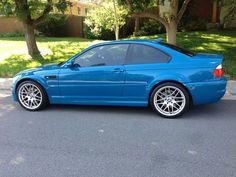 04 BMW M3 Laguna Seca Blue