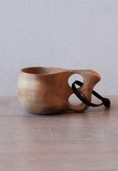 Wood Jewel Kuksa Becher
