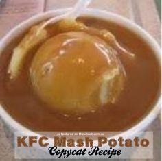 copycat KFC mash potato