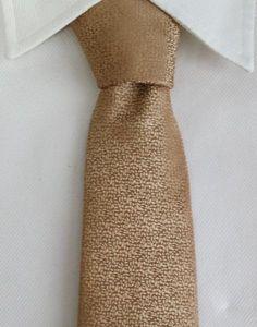 Gentleman Joe Golden Brown Polka Dot Tie Multicolored