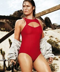 Most people don't see Ronda Rousey as a hot, attractive female. In fact, many men are probably intimidated by her devastating judo and fighting s...