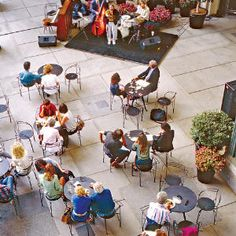 Great performances in Southern California LACMA. The Friday Night Jazz series at the Los Angeles County Museum of Art is now in its 14th year. Great music; food and drink can be had at the complex's Pentimento Restaurant ($$) and the Plaza Cafe ($). 5:30 p.m. Apr 1-mid-Dec. 5905 Wilshire Blvd.; www.lacma.org