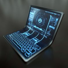 Futuristic computer desktop | DL - Futurism | Pinterest ...