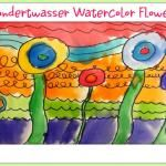 Deep Space Sparkle – Hundertwasser Art Lesson