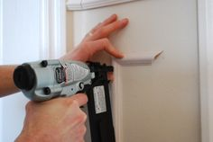 How To Install Molding Like a Pro. If I can do it, you can do it!