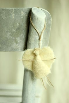 One Little White Angel Christmas Ornament  - Needle Felted Angel on Etsy, $16.00