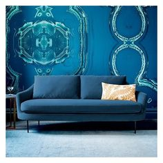 West Elm Esme Sofa, Performance Velvet, Stone ($799) ❤ liked on Polyvore featuring home, furniture, sofas, west elm sofa, west elm furniture, rounded sofa, velvet sofa and velvet couch