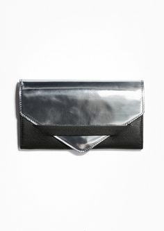 & Other Stories   Tuck In Leather Wallet