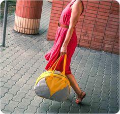 Leaf Weekender bag, Gym bag,Overnight bag, Workout bag, Yoga bag, Travel bag,Waterproof Carryall Bag, Durable Woodland Design