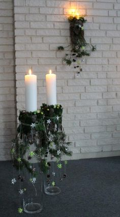 Explore Ina Ã…rseth& photos on Photobucket. Christmas Garden Decorations, Christmas Flowers, Christmas Candles, Rustic Christmas, Christmas Photos, Christmas Holidays, Christmas Crafts, Christmas Design, Candle Arrangements