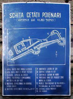 Layout of Poenari Castle, home of Vlad Tepes Order Of The Dragon, Floor Show, Dracula Castle, Vlad The Impaler, Raven King, Eastern Europe, Cool Artwork, Romania, Moldova