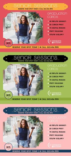 Mini Senior Session Card