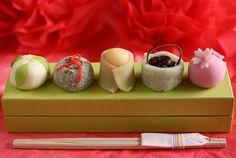 Wagashi for the Japanese Doll Festival (Hina-matsuri)