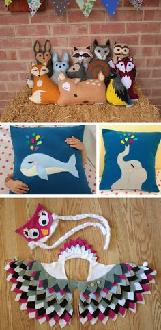 Handmade lovely animals in Toys and games for babies and kids