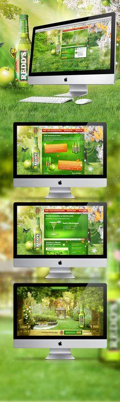 Redds.sk website on http://www.behance.net/gallery/Reddssk-website/3720482
