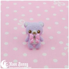 Moon Bunny | Pastel ice-cream bear Ring #2 | Online Store Powered by Storenvy
