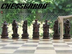 ChessBaron | Chinese Theme Chess Set - ST2024 - Ch