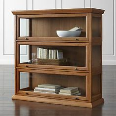 Atticus 3-Piece Barrister Bookcase