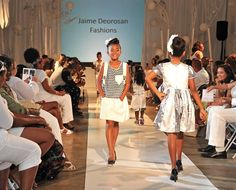 Lil Super Diva Model Adelina Castellano rockin' J'aime Deorosans' Fashions lookin' Awesome!