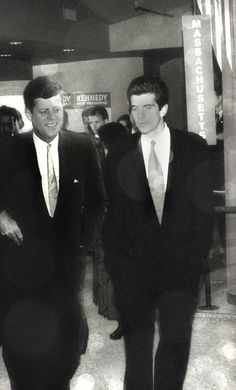 JFK, JFK Jr. What could have been.