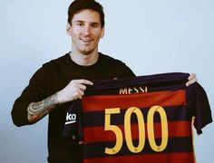 FC Barcelona 4-0 Real Betis: Congratulations to icon Leo Messi: a goal on his 500th appearance for the Blaugrana! Bravo Leo!