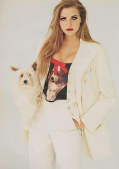 ☆ Nadja Auermann | Photography by Eric Boman | For Vogue Magazine UK | August 1992 ☆ #nadjaauermann #ericboman #vogue #1992