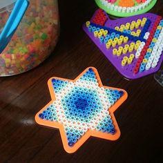 Star perler beads by harvest_guitar