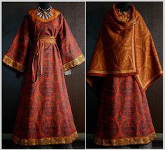 Ekaterina's incredible medieval clothing.