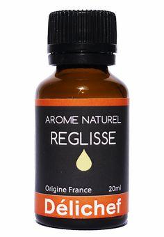 Arôme naturel de réglisse Délichef