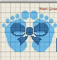 Ideas For Baby Boy Crochet Mobile Cross Stitch Owl, Baby Cross Stitch Patterns, Cross Stitch Charts, Cross Stitching, Cross Stitch Embroidery, Crochet Patterns, Crochet Stitches, Plastic Canvas Crafts, Plastic Canvas Patterns