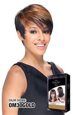 Equal Erica Wigs Ombre Color, Color Show, Equality, Curls, Wigs, Short Hair Styles, Collection, Colors, Fashion