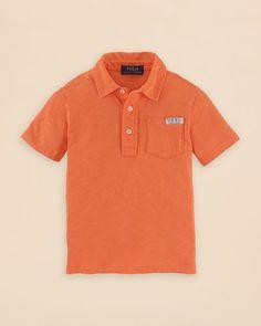 Ralph Lauren Childrenswear Boys' Jersey Polo Shirt - Sizes 2-7