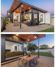 Sea Container Homes, Building A Container Home, Container House Plans, Container House Design, Shipping Container Homes, Container Office, Container Houses, Shipping Containers, House Goals