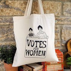En Fourre pour les Votes cabas bio Sac Toile féministe coton sac Slogan femmes 7qvxq1Z