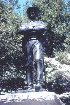 Confederate Soldier monument, Rockville, Maryland