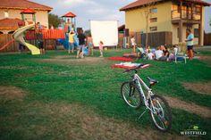 Pregătiți de film în aer liber.  #westfield #outdoorMovie #minions #residential #kids #fun Beautiful Stories, Cartier