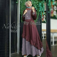 Jb NABILA #3 PR001 Harga 93.000 Bahan balotelly Ukuran all size fit to L   Informasi dan pemesanan hubungi kami SMS/WA +628129936504 atau www.ummigallery.com  Happy shopping   #jilbab #jilbabbaru #jilbabpesta #jilbabmodern #jilbabsyari #jilbabmurah #jilbabonline #hijab #Kerudung #jilbabinstan #Khimar #jilbabterbaru #jilbab2018 #jilbabkeren #jilbabmodis #bajumuslim #gamis #syari #maxidress #maxi #atasanwanita #atasanmuslim Batik Fashion, Abaya Fashion, Women's Fashion Dresses, Muslim Women Fashion, Islamic Fashion, Indian Gowns Dresses, Modest Dresses, Muslim Long Dress, Batik Dress