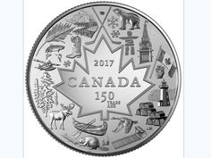 So it looks like we're going to skip the three-dollar bill stage entirely.: Canada is getting a three-dollar coin for its birthday I Am Canadian, Canadian Coins, Canadian History, Silver Coins For Sale, Silver Investing, Canada 150, Toronto Canada, Coin Prices, Dollar Coin