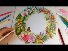 Magical Jungle: Tropical Love - Part 3 | Coloring With Colored Pencils - YouTube