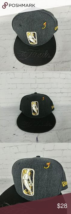 b95e1860bed Clevland Cavaliers New Era Black NBA Finals Hat You are buying a brand new  Cleveland Cavaliers New Era Gray Black 2018 NBA Finals Snapback Hat Cap  Color  ...