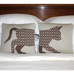 Kitty in Two Halves pattern by Gary Kennedy (Intarsia)