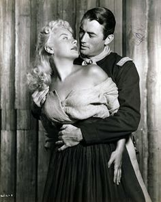 2)She dated or was romantically linked to actor Mickey Knox, producer Howard Hughes, actor John Ireland, gangster Mickey Cohen, actor George Raft, entertainment attorney Greg Bautzer, actors Gregory Peck, Tom Conway, Woody Strode, Guy Madison, Gary Cooper, Steve Cochran, and Jerry Bialac. She had a 6-month affair with Bob Hope in 1949 in which he paid for her to live in a luxurious apartment. The affair ended when she began making demands for more money.