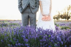 Eggplant and silver wedding inspiration