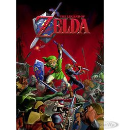 Legend of Zelda Poster hier bei www.closeup.de